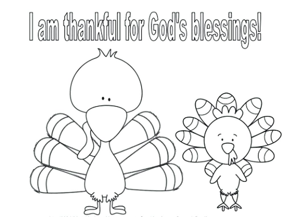 1024x761 Thankful Coloring Pages Thankful Turkeys I Am Thankful For Water