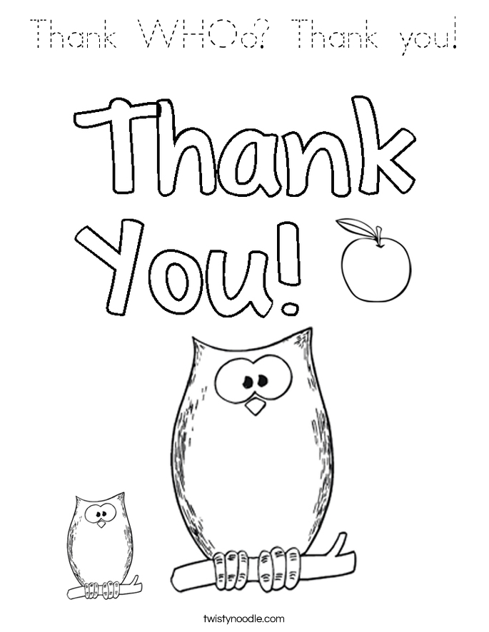 685x886 Thank You Coloring Pages Printable Free Coloring Pages