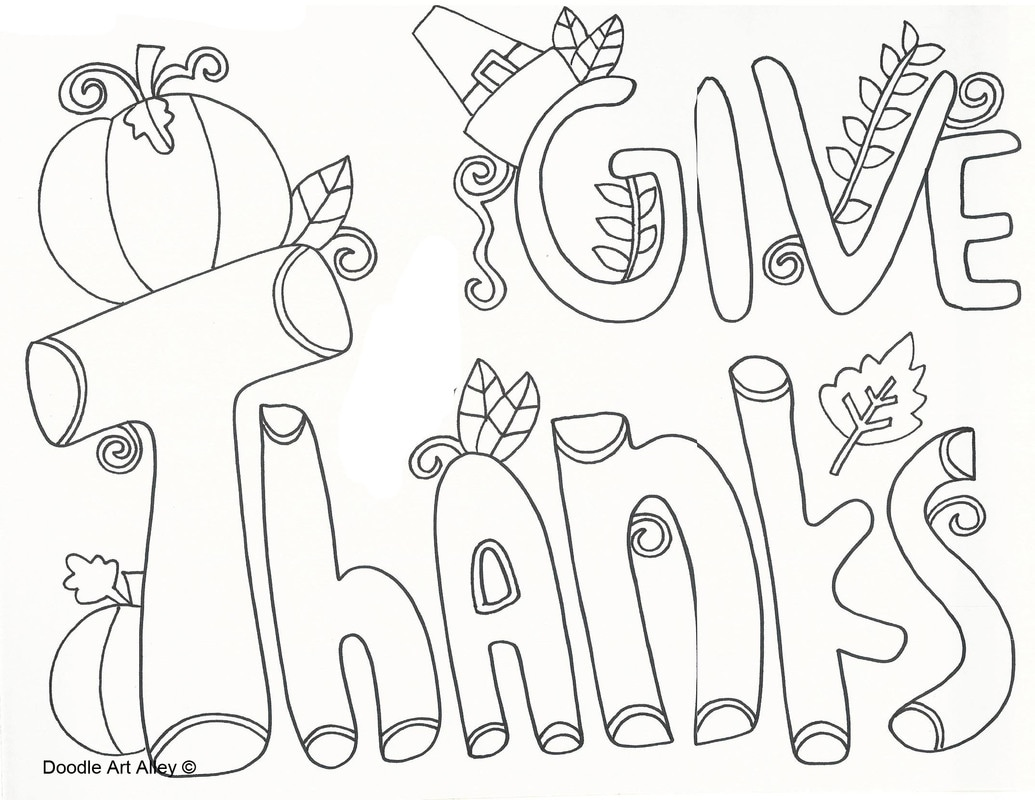 1035x800 Thanksgiving Coloring Pages Doodle Art Alley Thanksgiving Coloring