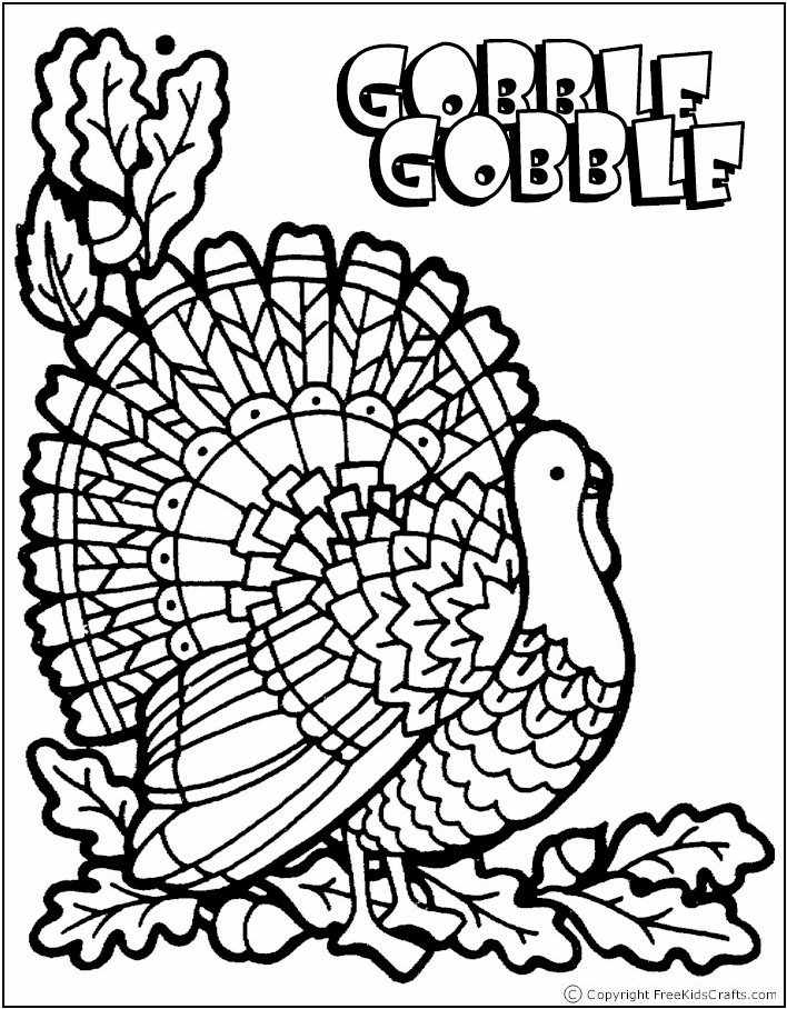 708x908 Thanksgiving Coloring Pages