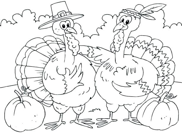 615x452 Free Printable Thanksgiving Coloring Pages Activities Stock