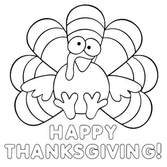 580x581 Free Printable Thanksgiving Coloring Pages Activities Turkey Thank