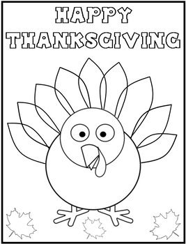 267x350 Thanksgiving Coloring Page {freebie} For The Kids While We Get