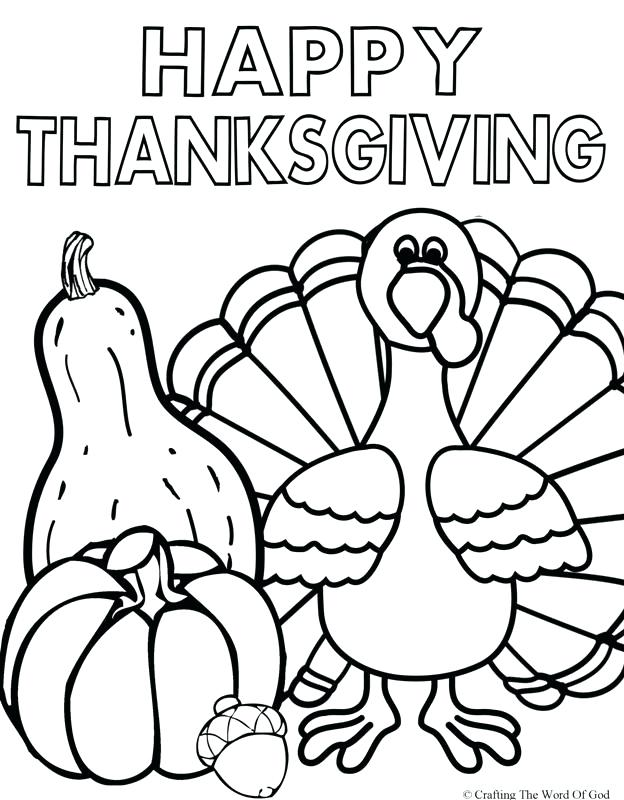624x800 Thanksgiving Coloring Pages Printable Free Happy Thanksgiving