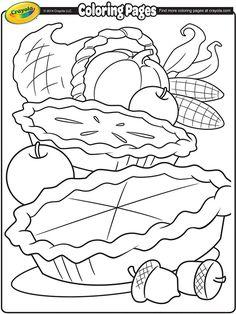 236x314 Thanksgiving Coloring Sheets