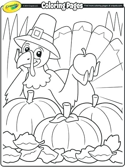 420x560 Free Printable Thanksgiving Coloring Pages