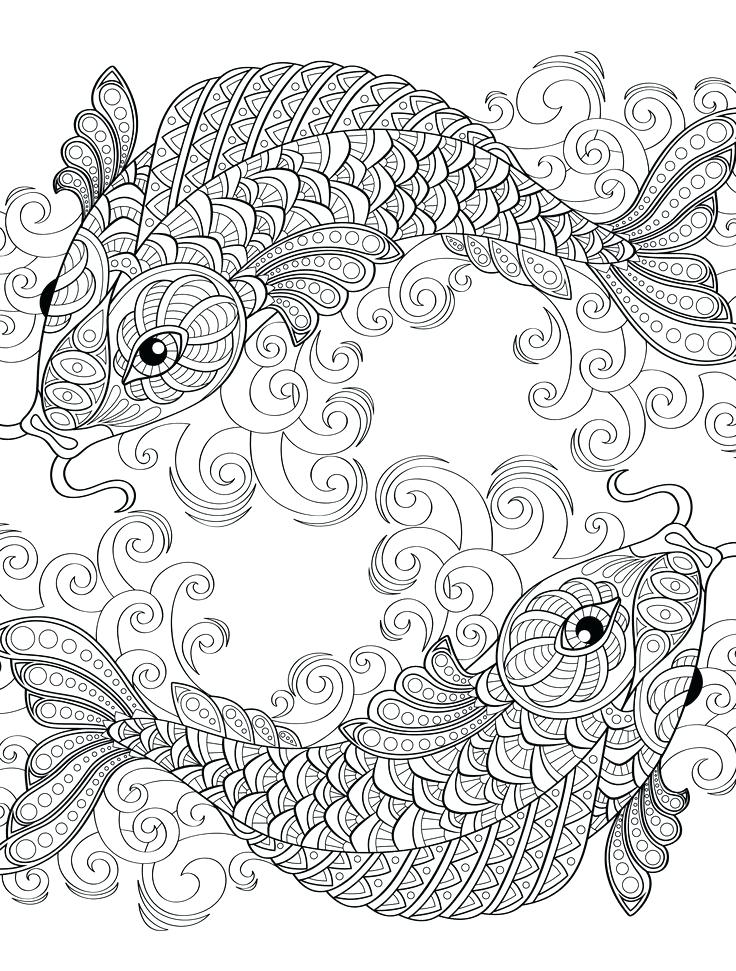 736x971 Coloring Pages Adults Free