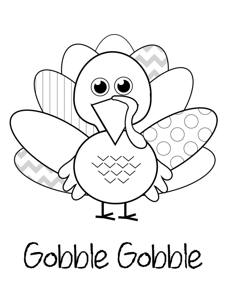 736x952 Thanksgiving Coloring Page