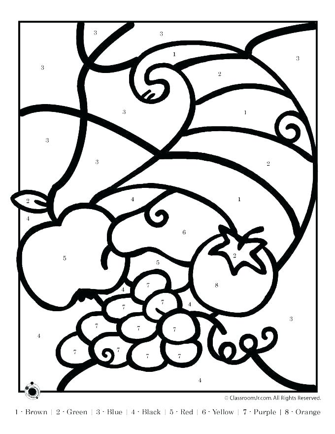 680x880 Thanksgiving Cornucopia Coloring Pages Thanksgiving Cornucopia