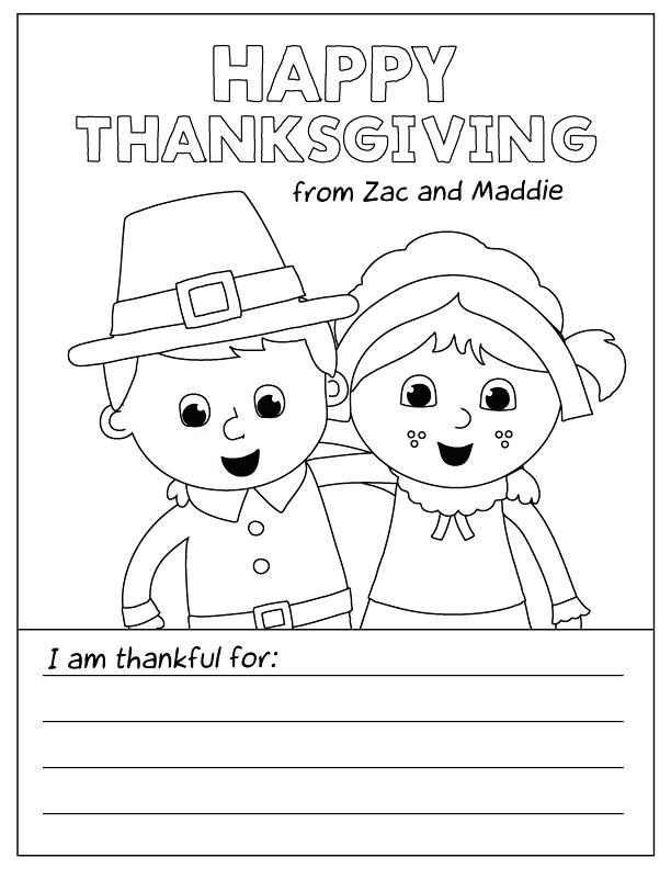 612x792 Free Thanksgiving Coloring Pages Printable Free Printable