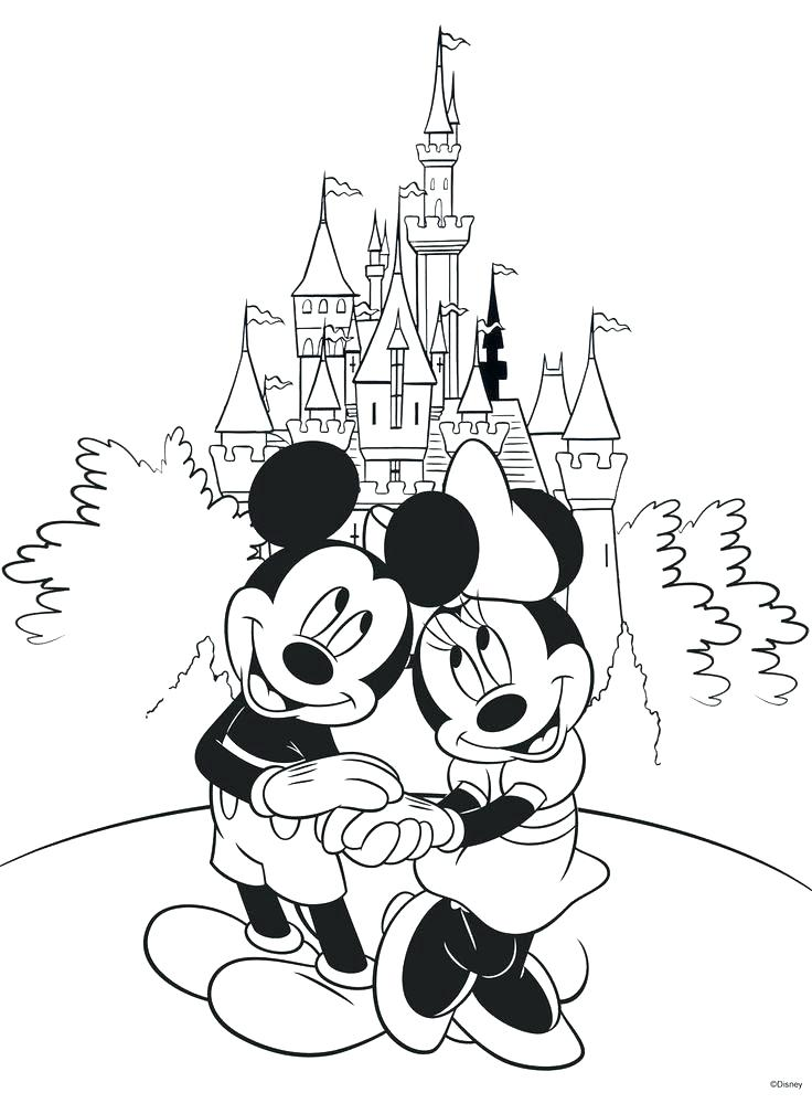 736x1009 Fascinating Color Pages Disney Coloring Pages Characters
