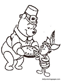 236x314 Free Disney Thanksgiving Coloring Pages Thanksgiving Coloring
