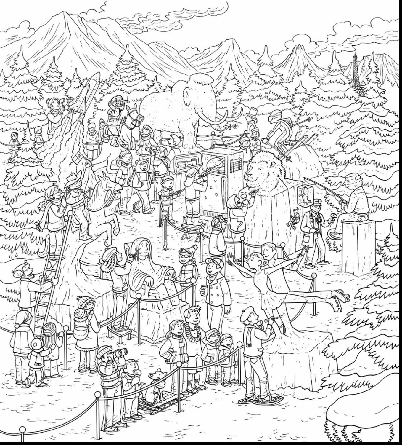 1358x1501 Miracle Thanksgiving Coloring Pages With Numbers Really Hard Color