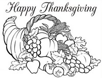 200x152 Adult Coloring Pages Thanksgiving