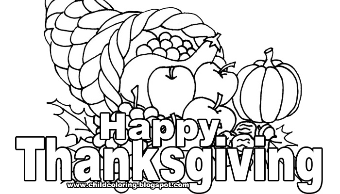 700x400 Coloring Pictures Of Thanksgiving Happy Thanksgiving Coloring
