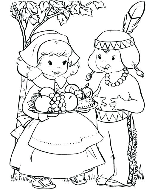 520x636 Free Thanksgiving Coloring Pages Printable Thanksgiving Coloring