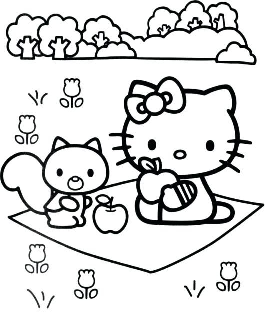 530x632 Kid Coloring Pages Kids Coloring Pages Hello Kitty Childrens