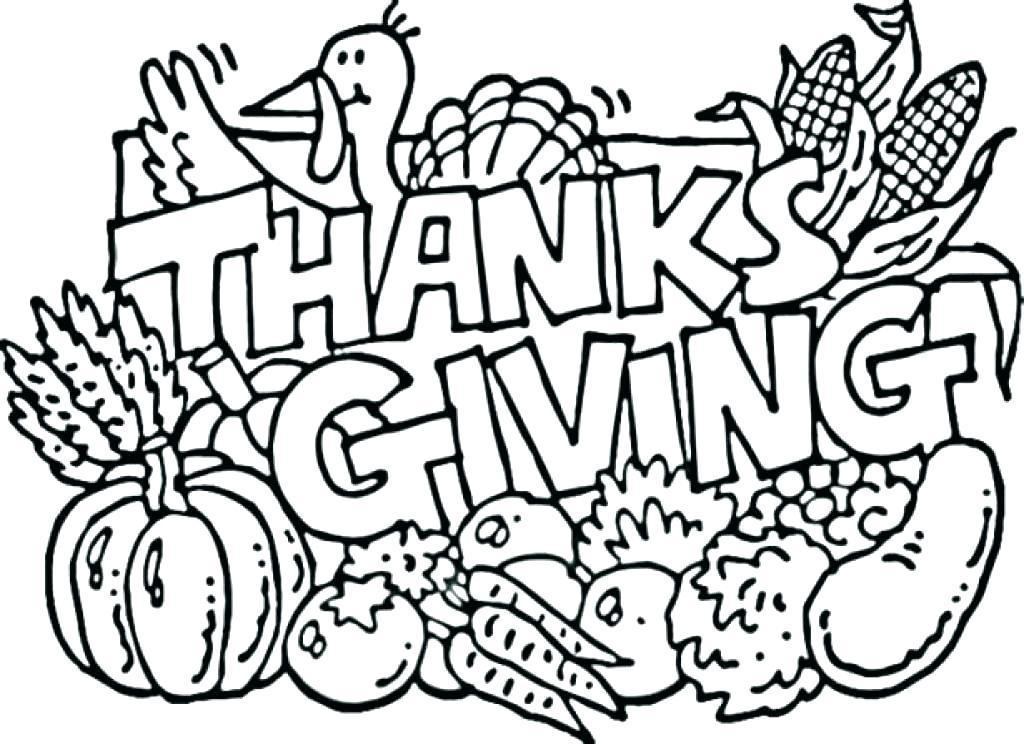 1024x744 Kids Thanksgiving Coloring Pages Elegant Free Thanksgiving