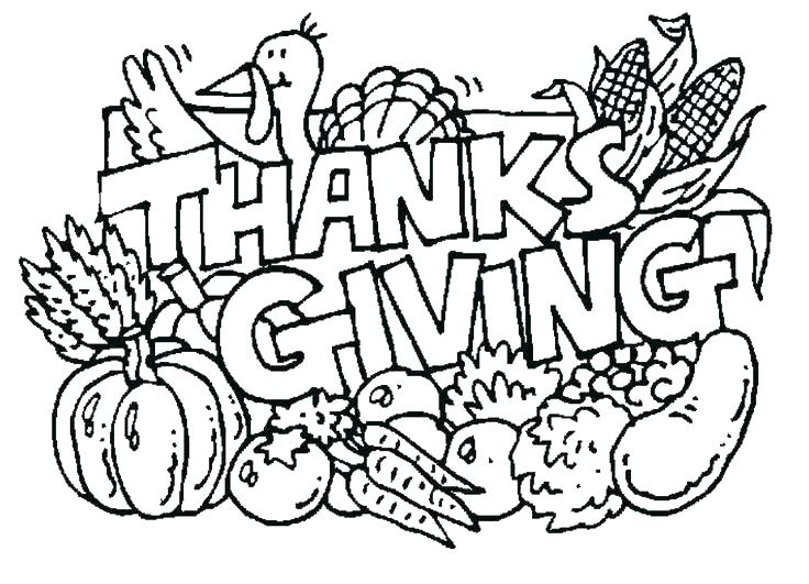 736x531 Preschool Thanksgiving Coloring Pages Free Printable Back