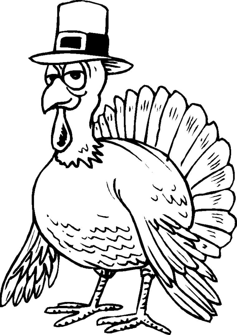 761x1075 Simple Thanksgiving Coloring Pages