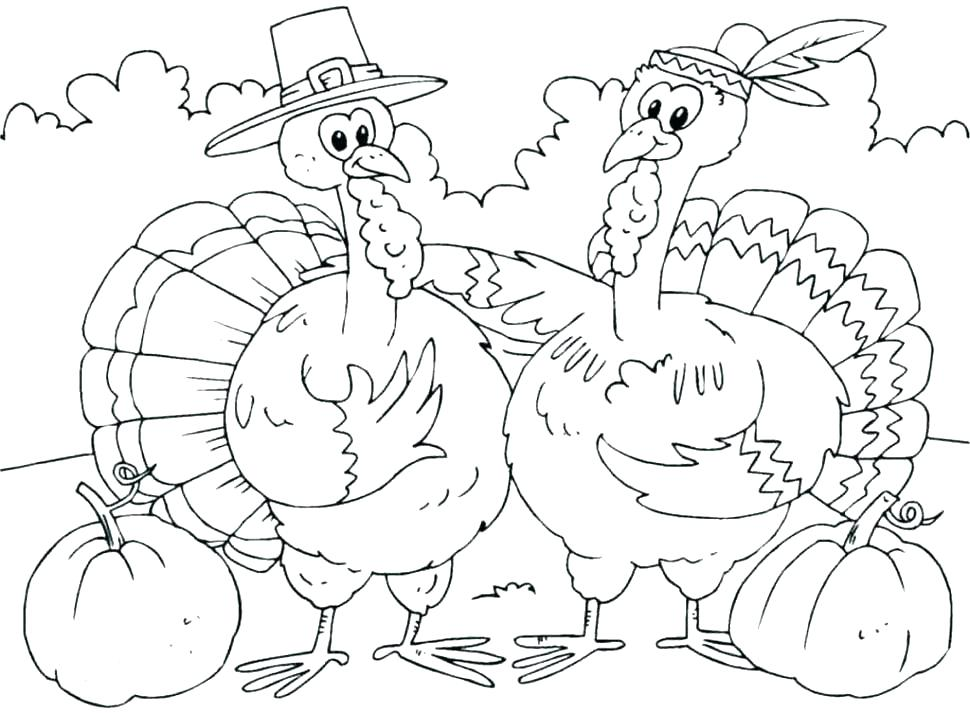 970x713 Thanksgiving Crafts Printables Free Thanksgiving Coloring Sheets