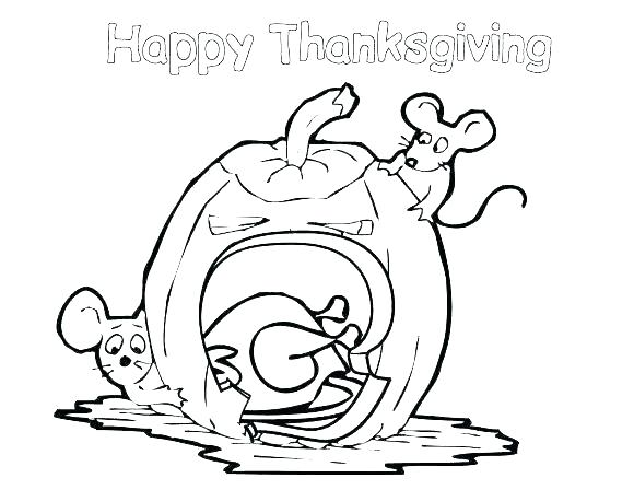 580x448 Happy Thanksgiving Coloring Pages