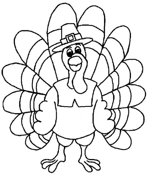 520x613 Free Thanksgiving Coloring Pages For Kids Thanksgiving, Free