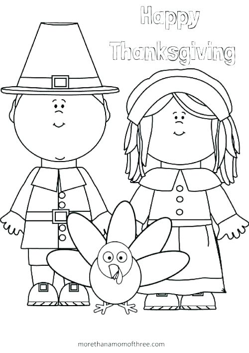 500x708 Thanksgiving Coloring Pages For Kindergarten Kids Coloring Pages