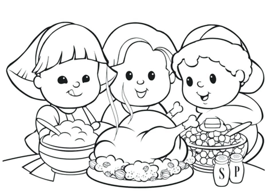 945x668 Thanksgiving Coloring Pages Kindergarten Thanksgiving Coloring