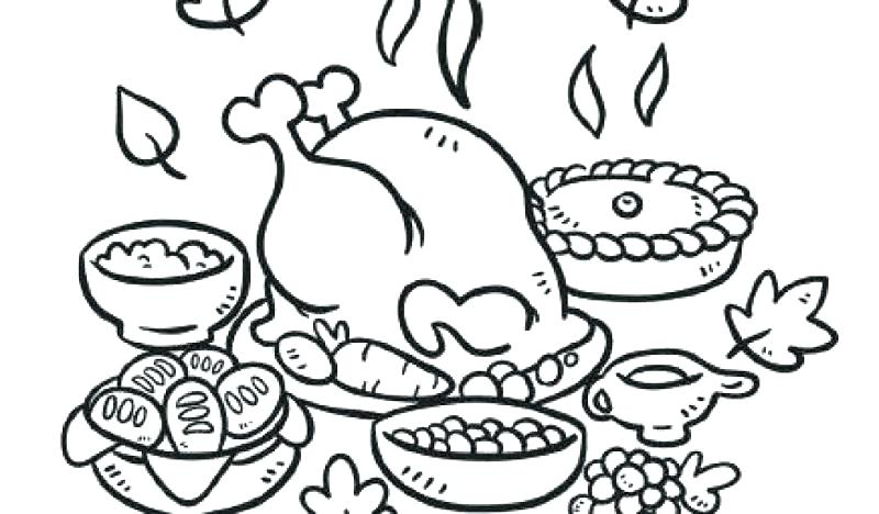 800x468 Thanksgiving Coloring Pages Printable Free Charlie Brown