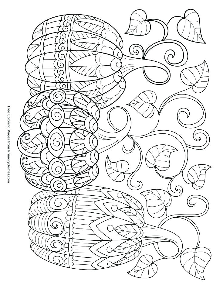 735x951 Thanksgiving Printable Coloring Pages Free Click This Size Link