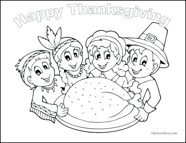 600x462 Thanksgiving Coloring Pages Activities Vanda