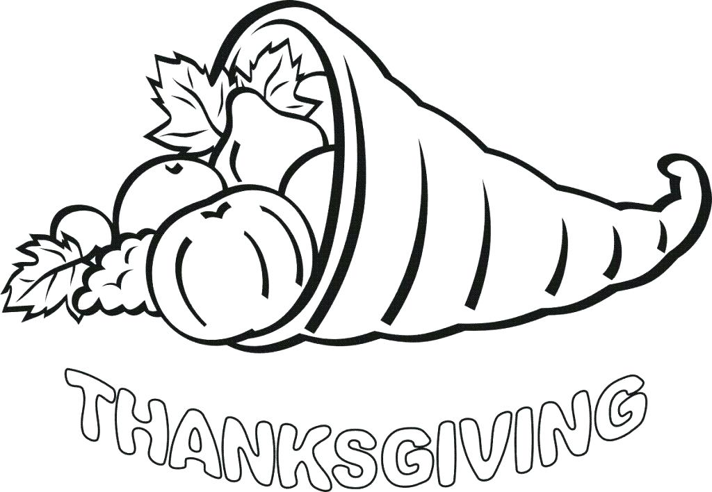 1024x708 Preschool Thanksgiving Coloring Pages Free Printable Back