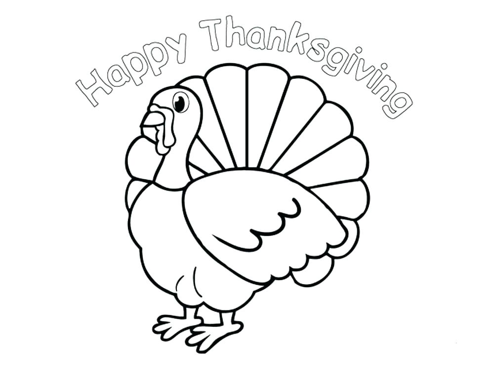 992x768 Thanksgiving Coloring Pages Turkey For Preschoolers Preschool