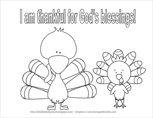 500x386 Christian Thanksgiving Coloring Pages