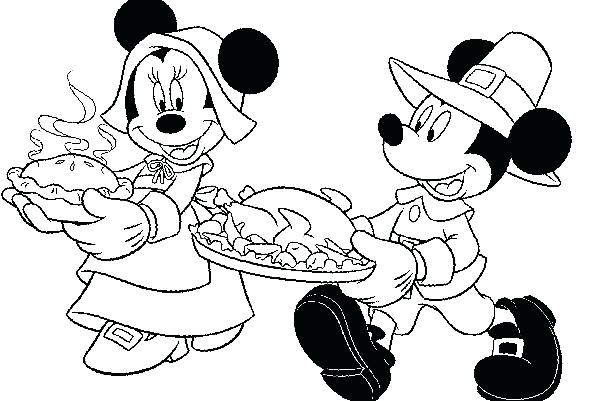 600x401 Disney Thanksgiving Coloring Pages Thanksgiving Printable Coloring