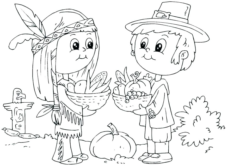 945x695 Free Thanksgiving Printable Coloring Pages Thanksgiving Coloring