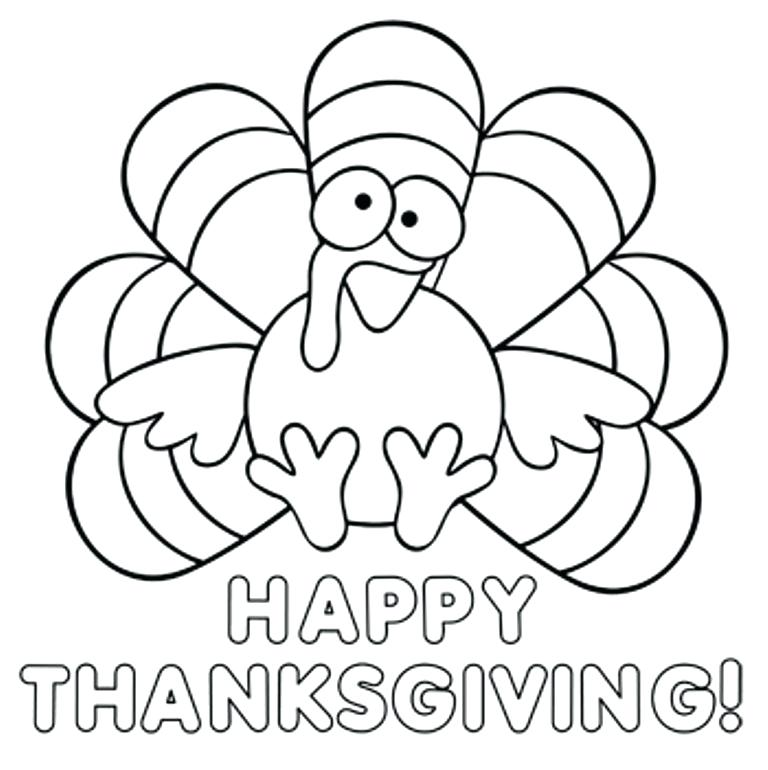 768x770 Thanksgiving Coloring Pages