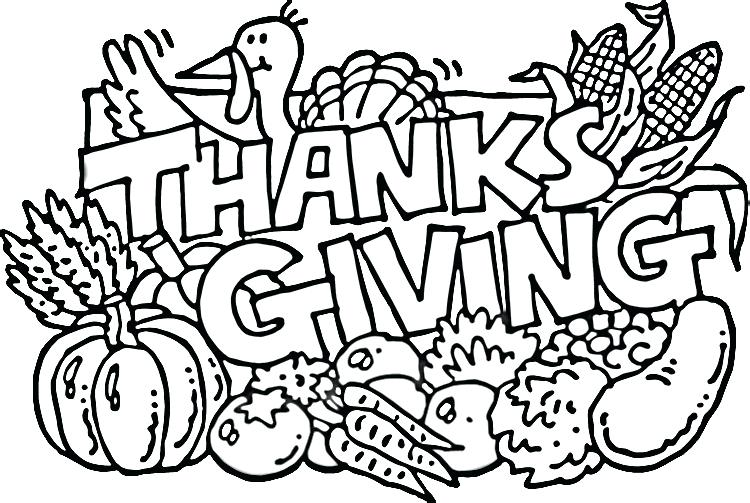 750x503 Thanksgiving Coloring Pages Free Thanksgiving Coloring