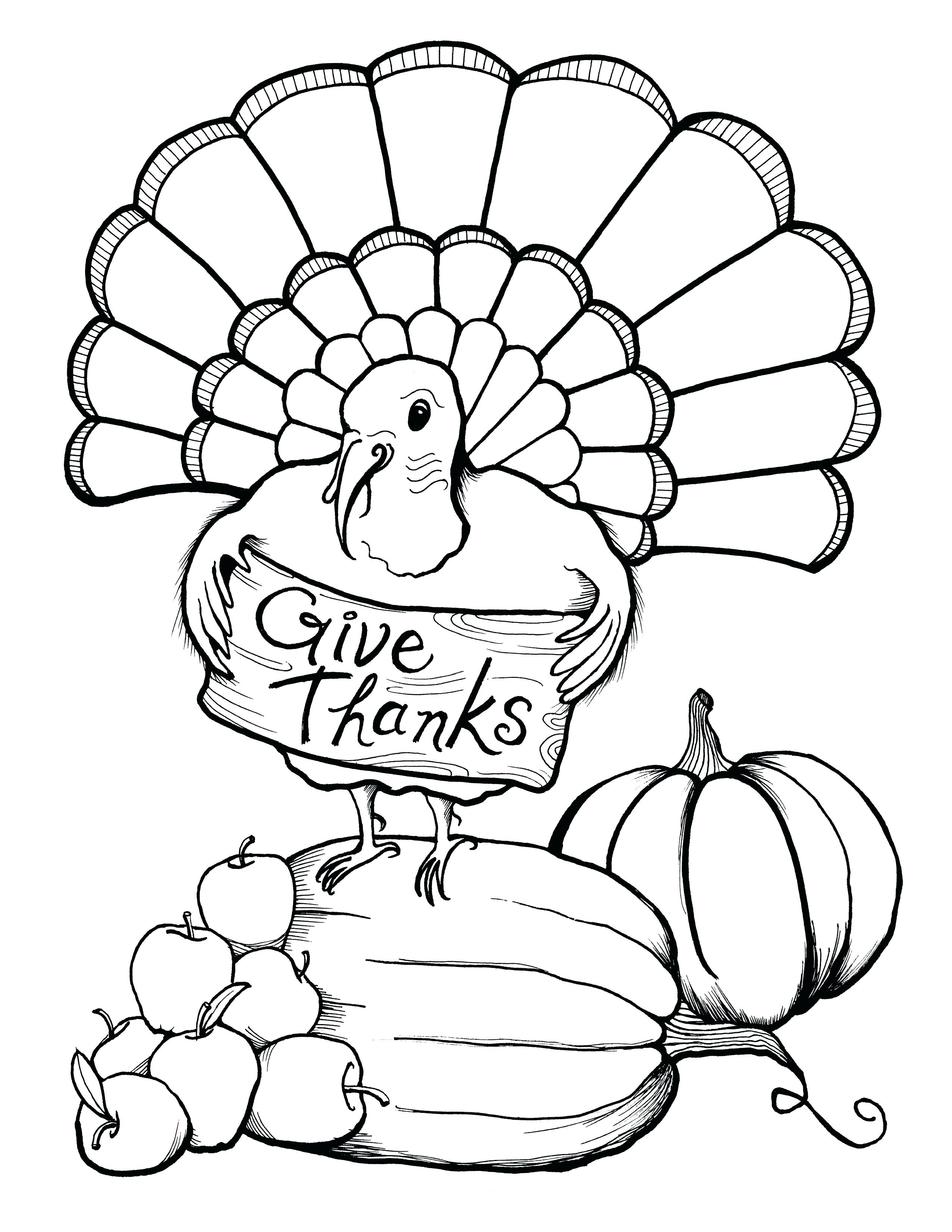 2550x3300 Thanksgiving Coloring Pages Pdf