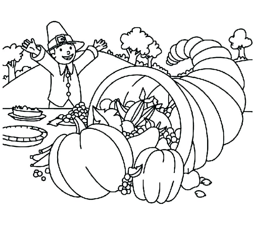 867x768 Thanksgiving Coloring Pages Pdf Thanksgiving G Pages Printable