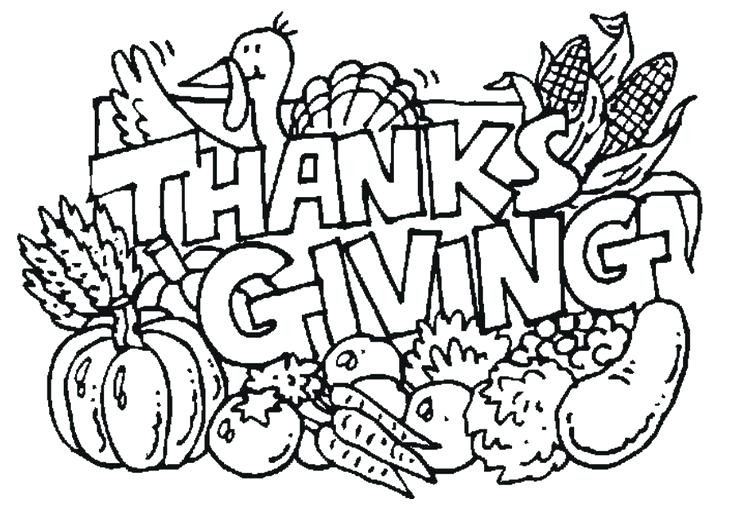 736x531 Thanksgiving Coloring Pages Pdf Turkey Coloring Pages A Happy