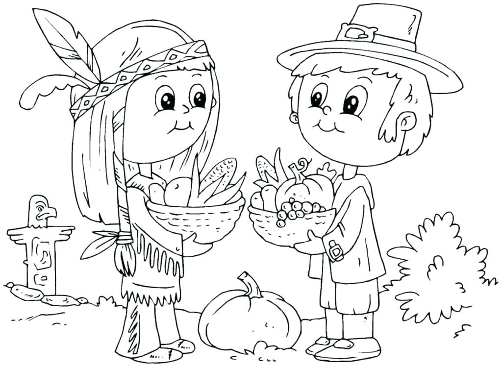 1024x753 Free Printable Thanksgiving Coloring Pages Pdf