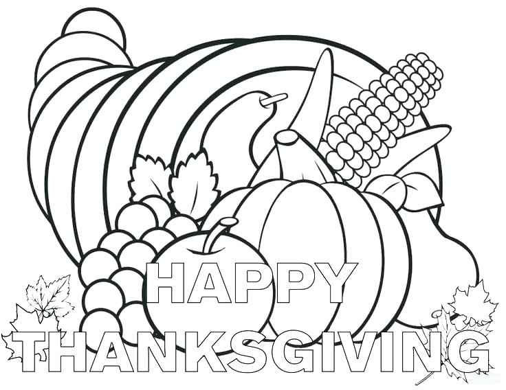 736x568 Thanksgiving Coloring Pages Pdf Icontent