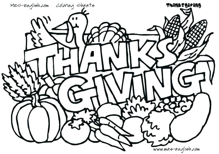 728x511 Inspirational Thanksgiving Day Coloring Pages Free And Printable