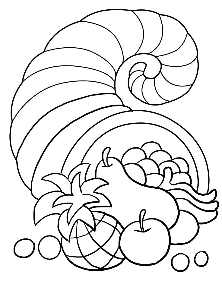 736x952 Thanksgiving Feast Coloring Pages Thanksgiving Feast Coloring