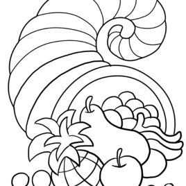 Thanksgiving Day Coloring Pages Free