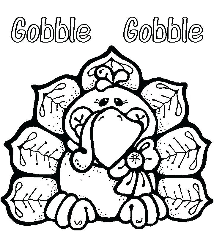 720x776 Happy Turkey Day Coloring Pages