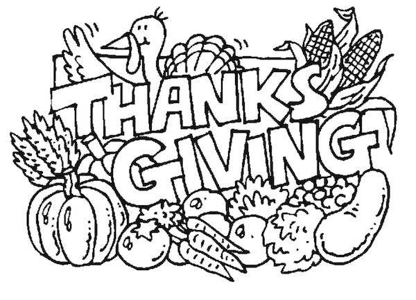 600x433 Thanksgiving Coloring Pages Thanksgiving, Free Thanksgiving
