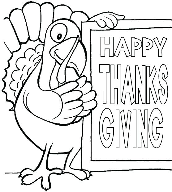556x622 Thanksgiving Day Coloring Pages Free